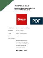 UNIVERSIDAD ESAN-CASO COMSAT-PAE GESTION FINANCIERA