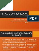 BALANZA DE PAGOS CLASE