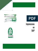 Impresiones en SAP
