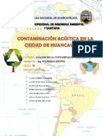 CONTAMINACION SONORA EN LA CIUDAD DE HUANCAVELICA