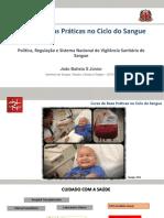 Politica e regulação de sangue