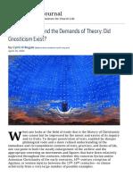 Cyril O'Regan - Did Gnosticism Exist.pdf