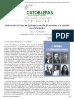 Destrucción del libro de Santiago Armesilla, El marxismo y la cuestión nacional española, El Catoblepas 186_1, 2019