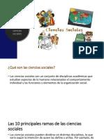 Las 10 Disciplinas de las Ciencias Sociales
