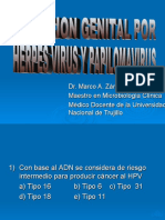(DR. ZARATE) Herpes y Papilomavirus