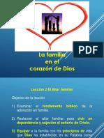 La familia Lección 2
