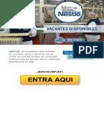 OFERTA DE EMPLEO - NESTLE Busca Personal APLICA AQUI (20)