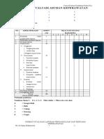 Format Evaluasi Pendidikan  Profesi Ners