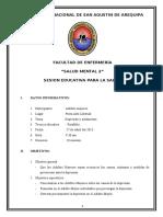 SESION EDUCATIVA-DEPRESIÓN Y AISLAMIENTO EN EL ADULTO MAYOR.doc