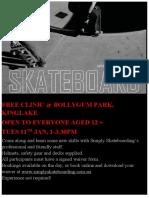 Skateboarding Learn How Kinglake