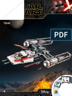 #4-75249 Resistance Y-wing Starfighter