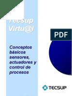 Concepto básicos de sensores, actuadores y control de procesos