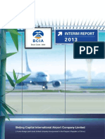 2013 Beijing Airport Interim Report