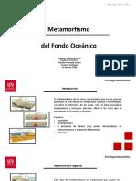 Metamorfismo de Fondo Oceanico