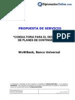 Ejemplo de Propuesta de Servicio V1-0