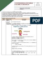 REPRESENTANTES - PLAN DE CONTINGENCIA SEMANA 6