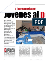 Cartajoven Encuentro Iberoamericano Jóvenes al poder