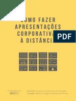 E-book Como fazer apresentações corporativas à distância