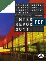 2011 Beijing Airport Interim Report