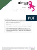 Distimo Report - April 2010