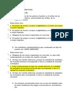 EXÁMENES FINANZAS CORPORATIVAS- CUESTIONARIOS Y FOROS