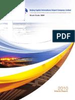 2010 Beijing Airport Interim Report