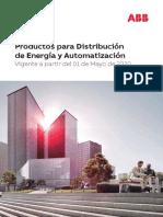 Lista de Precios Productos para Distribucion de Energia y Automatizacion ABB Peru