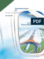 2009 Beijing Airport Interim Report