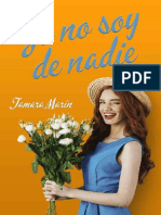 Yo no soy de nadie- Tamara Marin