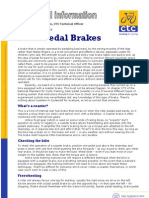 Back Pedal Brakes
