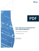 Best Practices for Migrating SAP Environments