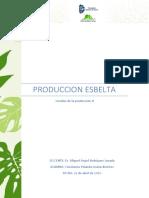 PRODUCCION ESBELTA