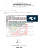 English Eleventh Lesson Plan - Jaime Saavedra