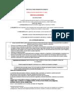 protocolo para presentar ensayo
