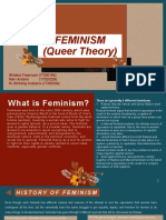 FEMINISM (Queer Theory)