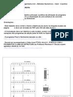 TRABALHO METODOS PORTICOS1