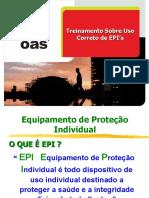 Treinamento sobre uso correto dos EPI's ok.ppt
