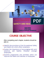 Chapter 6-Safety and Health