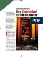 Festivales de Colombia. Una Diversidad  Imposible de Obviar