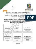 Manual de Adquisiciones y Servicios