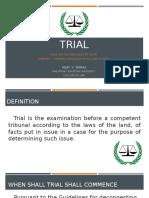 TRIAL REPORT FINAL
