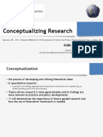 02. Conseptualizing Research