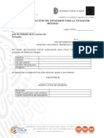 FG2M-033 Solicitud del estudiante para la Titulación Integral Rev.00-051015