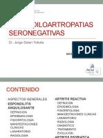 13ra semana 4ta sesion - Espóndilo Artropatia Seronegativa  - Dr. Solari