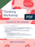 Creative Thinking Workshop by Slidesgo.pptx