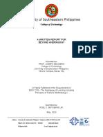 WRITTEN REPORT FOR BEYOND ANDRAGOGY - MATUBANG, R. - BTVTED - HVACR