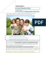 6 valores de una familia feliz