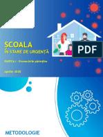 Sondaj IRES Scoala din Romania in stare de urgenta - aprilie 2020