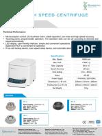 Brochure BioSpin Centrifuge HC-16A_2019.07