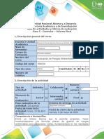 Guia de actividades y rúbrica de evaluación - Paso 5 - Controlar Informe ejecutivo final (1)
